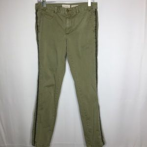 Chinos by Anthropologie 29 olive green pants
